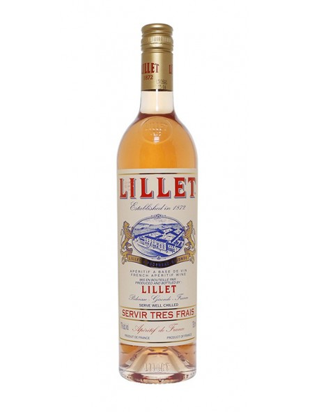Vermouth Lillet Rose 9940
